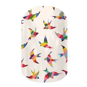 3/$10✨'Birds in Paradise' Jamberry Nail Wrap Mani